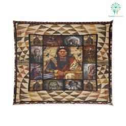 Portraits Of Native American Warriors Comforter %tag familyloves.com