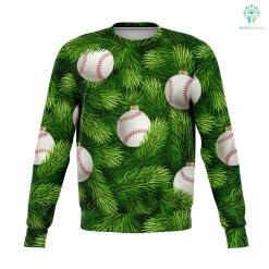 Baseball Tree - Athletic Sweatshirt %tag familyloves.com