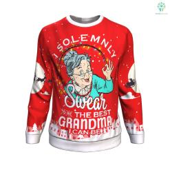 i solemnly swear to be the best grandma i can be UGLY CHRISTMAS SWEATER %tag familyloves.com