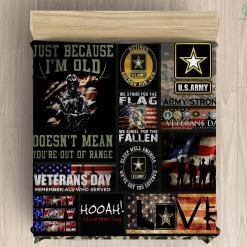 U.S. Army war college microfiber duvet cover pillow bedding sheet %tag familyloves.com