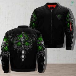 Dragon Skull Jacket %tag familyloves.com