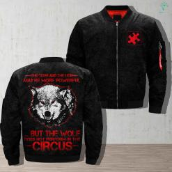 Autism in dogs - the tiger and the lion may be more powerful but the wolf does not perform in the circus jacket armed forces army autism autism in dogs dogs find gift gifts jacket life military personalized platform present products quality service shipping veteran work %tag familyloves.com