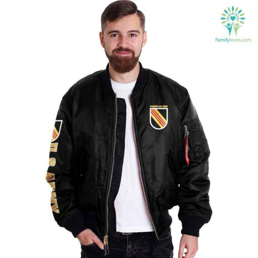 5th Special Forces U.S Army Over Print Jacket %tag familyloves.com