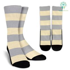 Strip-Classic-B-002 Crew Socks %tag familyloves.com