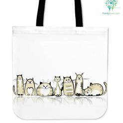 Funny Cat II Cloth Tote Bag %tag familyloves.com