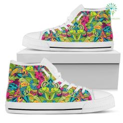 Donna Sneakers Alte Bianco %tag familyloves.com
