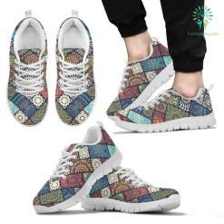 Colorful Mandala Men`s Sneakers %tag familyloves.com