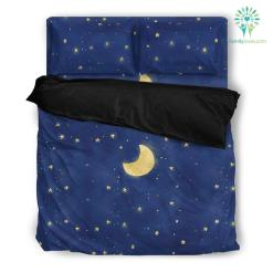 Moon and Stars Bedding Set %tag familyloves.com