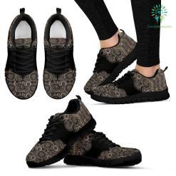 Paisley Mandala 4 Sneakers %tag familyloves.com