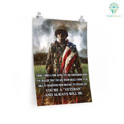 Always A Veteran Poster %tag familyloves.com