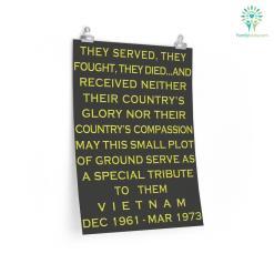 Vietnam Veterans Day Poster %tag familyloves.com