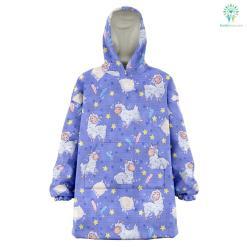 Sleeping Sheep - Snug Hoodie %tag familyloves.com