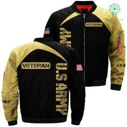 US Army veteran 3D full print jacket %tag familyloves.com