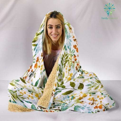 HandCrafted Boho Spring Hooded Blanket %tag familyloves.com
