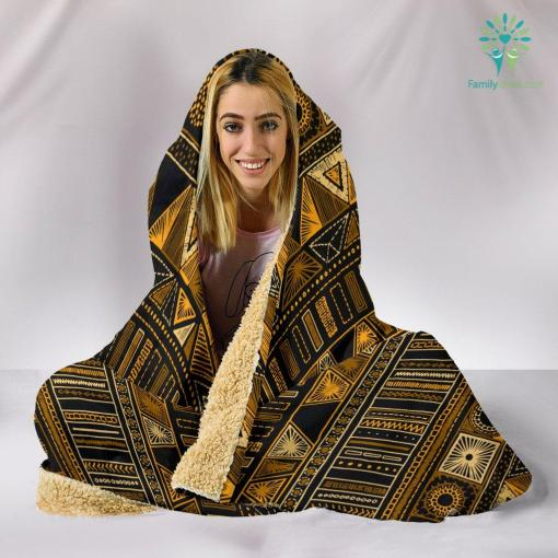 Boho Aztec Hooded Blanket %tag familyloves.com