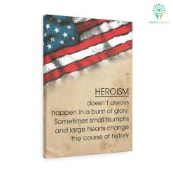 Mary Roach quotes Canvas-Heroism Doesn't Always Happen In A Burst Of Glory... burst burst of glory canvas gifts glory happen happen in a burst mary mary roach mary roach quotes mary roach quotes canvas personalized products quality quotes quotes canvas roach roach quotes roach quotes canvas veteran %tag familyloves.com