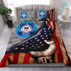US COAST GUARD AMERICAN FLAG BEDDING SET %tag familyloves.com
