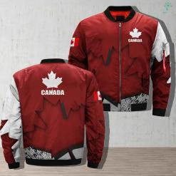 Canada Veteran Full Print Jacket %tag familyloves.com