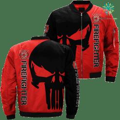 Firefighter Job title 3d print jacket %tag familyloves.com