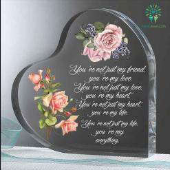 You are my everything Heart Keepsake %tag familyloves.com