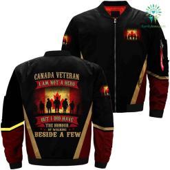 Canada veteran jacket