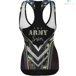 Proud Army Sister T-Shirt- Camouflage Shirt Army Sister army army sister hoodie shirt sister %tag familyloves.com