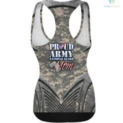 Proud Army National Guard Mom USA Heart Shirt Mothers Day hoodie shirt %tag familyloves.com