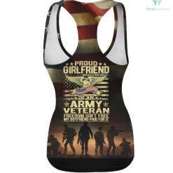 Freedom Isn't Free Proud Girlfriend Of An Army Veteran hoodie shirt %tag familyloves.com