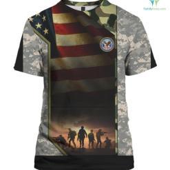 Desert Storm Veteran Tee Shirt Desert Storm Gulf War Gift %tag familyloves.com