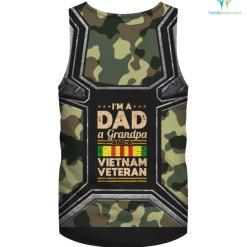 Dad Grandpa Vietnam Veteran Vintage %tag familyloves.com