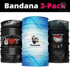 Not Today Paramedic Bandana %tag familyloves.com