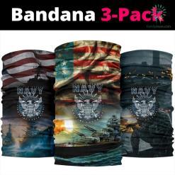 United States Navy Bandana Neck Gaiter %tag familyloves.com