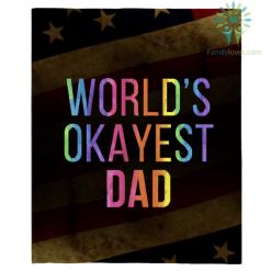 World&39;s Okayest Dad T Shirt %tag familyloves.com