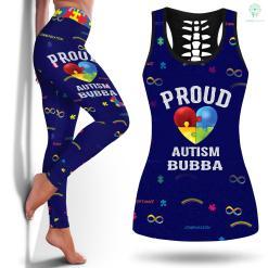 Autism Diagnostic Criteria Proud Autism Bubba Autism Awareness Gifts T-Shirt Autism Rateslegging And Tanktop %tag familyloves.com