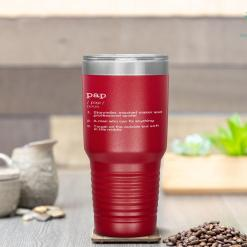 Pap Definition - Father's Day Gift Tumbler %tag familyloves.com