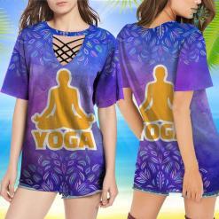 Yoga With Adriene T Shirt Yoga T-Shirt Yoga Stoned Shirt %tag familyloves.com