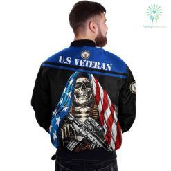 U.S NAVY CLOTHING- 3D PRINTED SKULL WITH FLAG %tag familyloves.com
