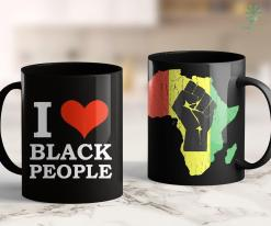 All Lives Matter Movement I Love Black People Black Is Beautiful Black Pride Melanin 11Oz 15Oz Black Mug %tag familyloves.com