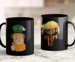 Anti Trump Shirts Trump Leprechaun St. Patricks Day Maga 11oz Coffee Mug %tag familyloves.com