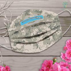 Army Dad Combat Infantryman Badge Cib Army Veteransoldier Patriotic Face Mask Gift %tag familyloves.com