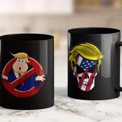 Arrest Trump Potus Busters Funny Trump Pun Parody Impeachment Party 11oz Coffee Mug %tag familyloves.com
