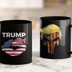 Arrest Trump Womens Trump Supporter Donald Trump Gift 11oz Coffee Mug %tag familyloves.com