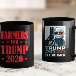 Awesome Trump Shirts Farmers Trump 2020 Rally Vote Support 11oz Coffee Mug %tag familyloves.com