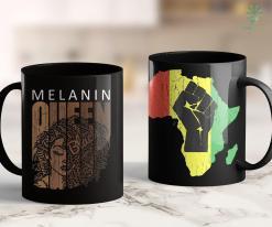 Black Life Matter Melanin Queen Tee African American Strong Black Natural Afro 11Oz 15Oz Black Mug %tag familyloves.com