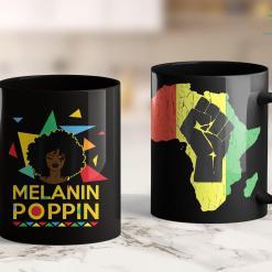 Black Lives Matter Article Melanin Poppin African Black Queen 11Oz 15Oz Black Mug %tag familyloves.com