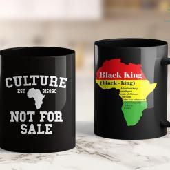 Black Lives Matter Chicago Black History Month Pride Gift Culture Not For Sale 11Oz 15Oz Black Mug %tag familyloves.com