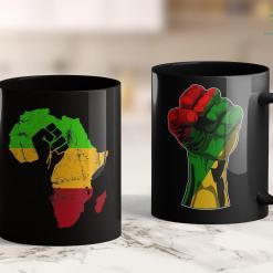 Black Lives Matter Leader Black Power Africa Retro Vintage Gift 11Oz 15Oz Black Mug %tag familyloves.com