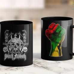 Black Lives Matter Movement Black Sabbath Official Vintage Dancing Skeletons 11Oz 15Oz Black Mug %tag familyloves.com