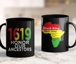 Black Lives Matter News 1619 Our Ancestors Project, Black History Month Kwanzaa Gift 11Oz 15Oz Black Mug %tag familyloves.com