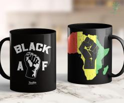 Black Lives Matter Website Proud Black Af Pro Black Pride Proud African American Shirt 11Oz 15Oz Black Mug %tag familyloves.com